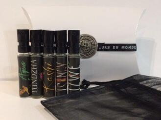 Coffret parfums du monde